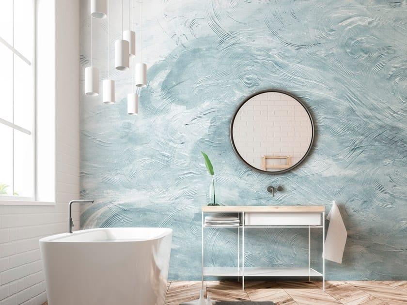 Nonwoven wallpaper AZUMI by Tecnografica