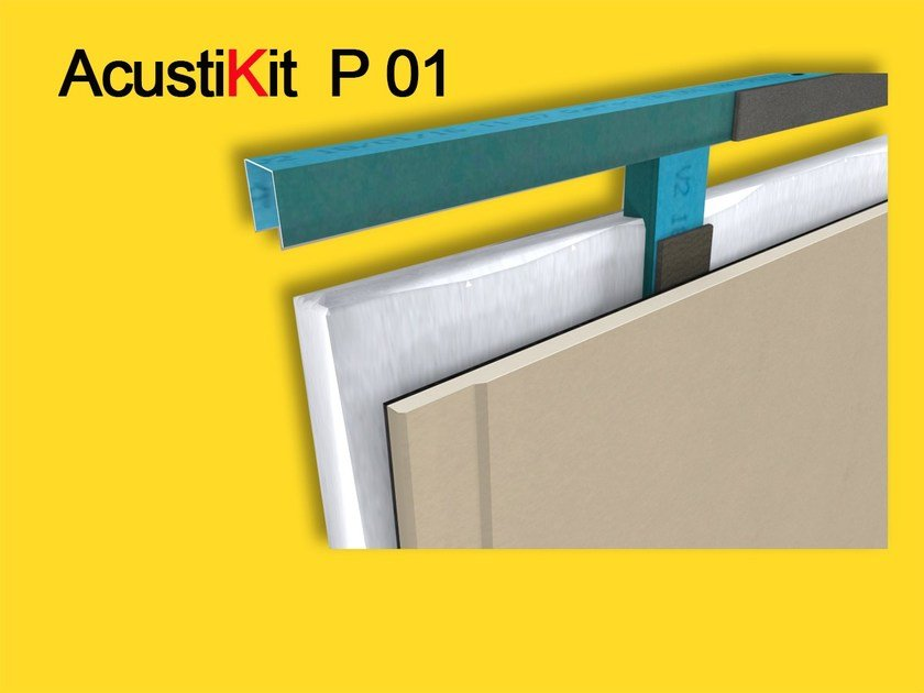 Rubber sound insulation felt AcustiKit  P01  Isolante acustico by GHIROTTO