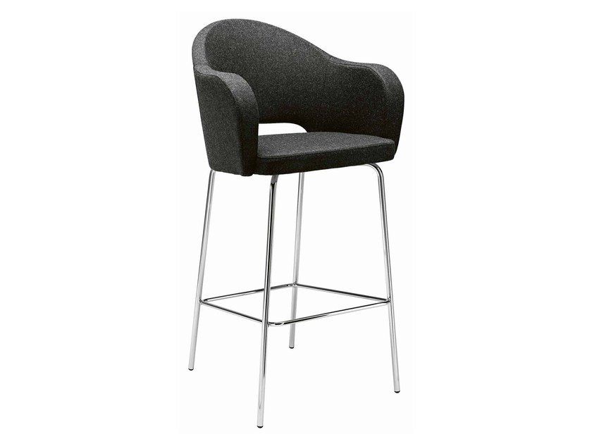 Upholstered chair Agatha 384 by Metalmobil