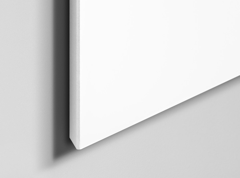 Wall-mounted office whiteboard Air Whiteboard by Lintex