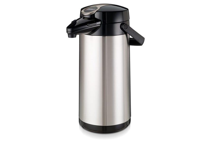 Vacuum stainless steel vacuum flask Airpot Furento by Bravilor Bonamat