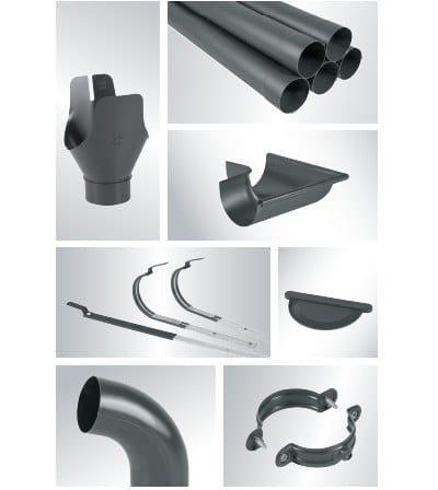 Complementi di lattoneria in alluminio