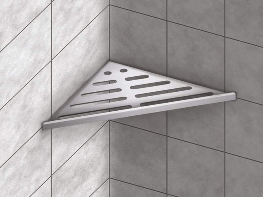 Aluminium bathroom wall shelf Aluminium shower shelf By Genesis