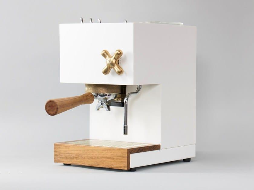 Table top corian coffee machine AnZa CORIAN by Montaag
