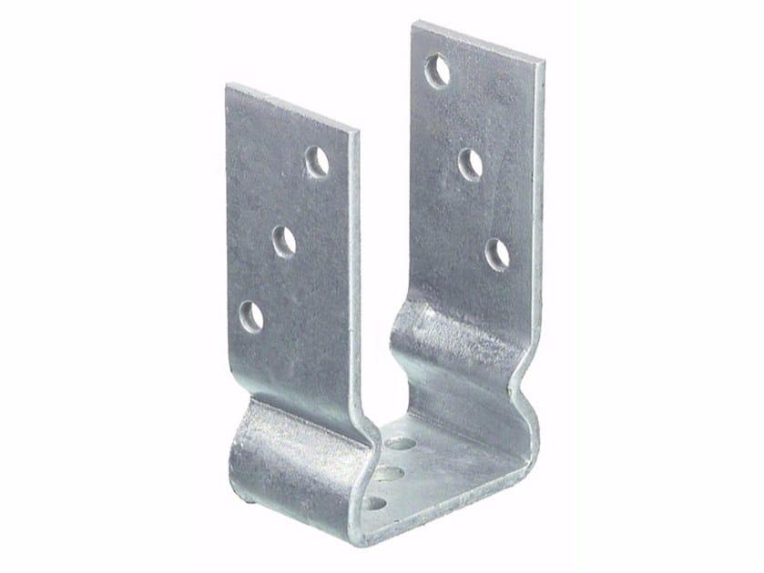 Supporto ad u in acciaio zincato supporto ad u unifix swg for Amore legnami