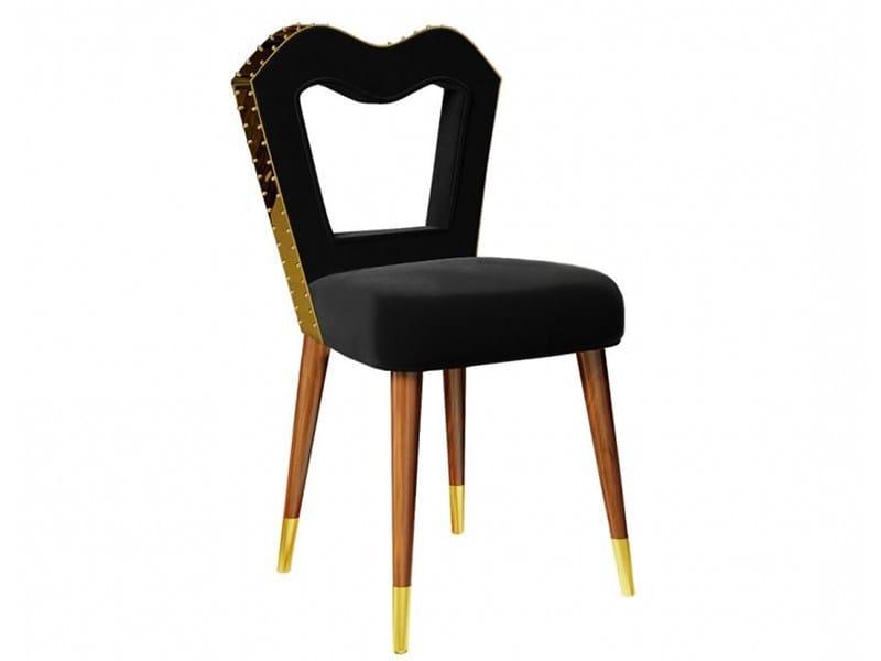 Velvet chair ANDRESS by Ottiu