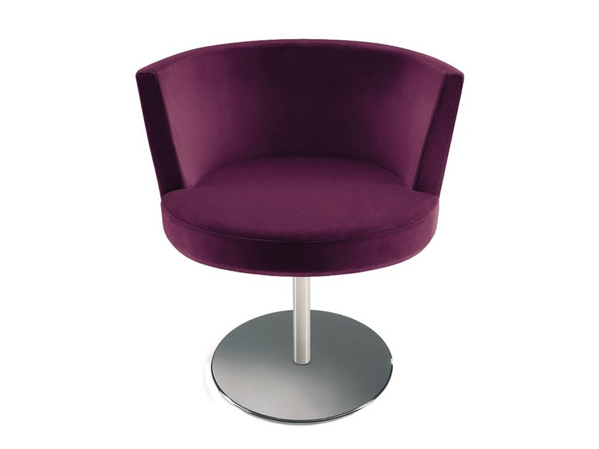Upholstered guest chair AURORA | Easy chair by Vela Arredamenti