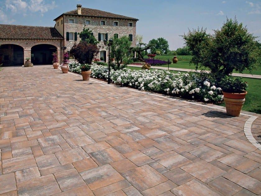 Concrete paving block Avila® by Micheletto