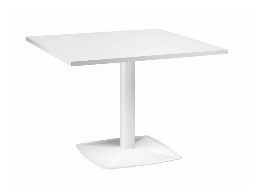 Rectangular metal table Ax 513 by Metalmobil