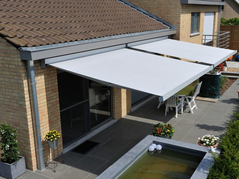 Folding arm awning B-27 ELITE by BRUSTOR