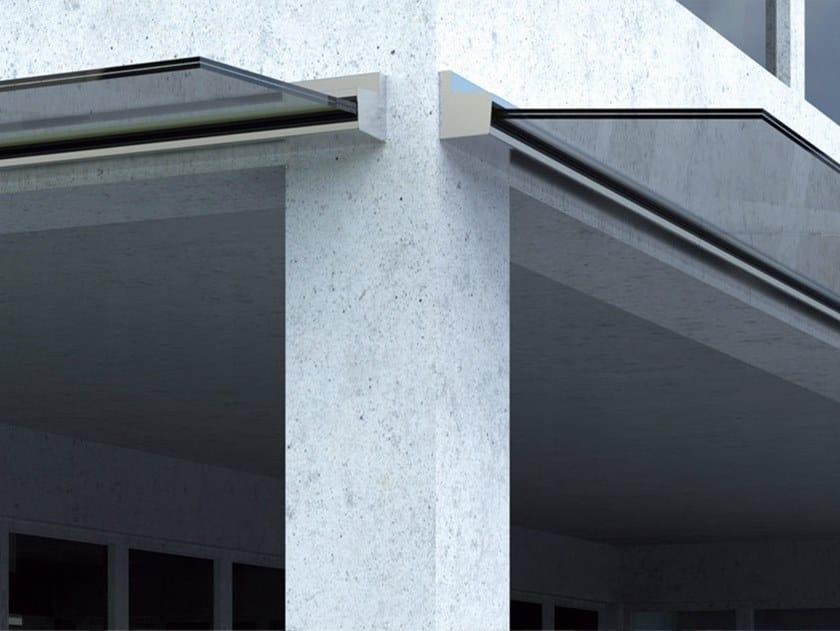 Glass door canopy B-4040 MAXIMA JOLLY PACK by Metalglas Bonomi