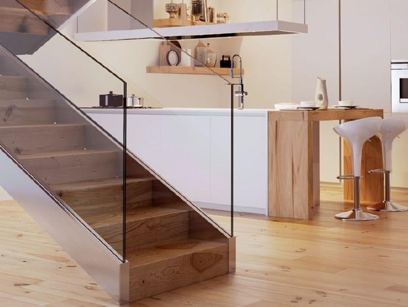 Balaustra per scale B-6220 LUXOR STAIRS by Metalglas Bonomi