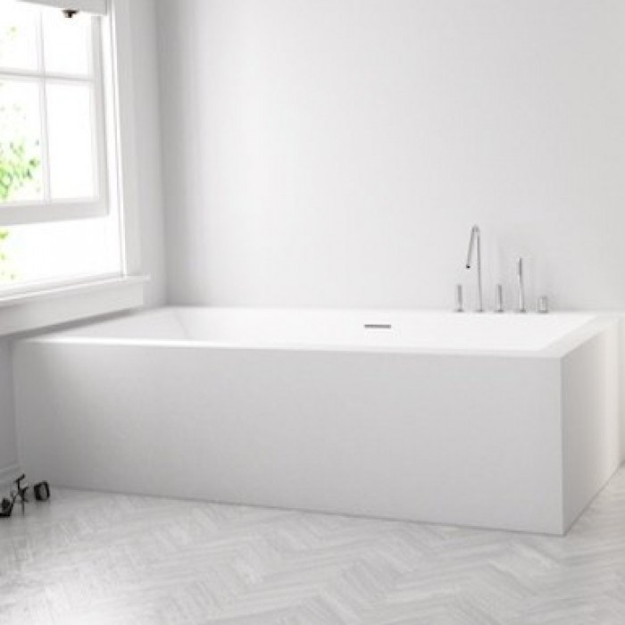 182494f7e409 Vasca da bagno rettangolare in Corian® su misura B-FLAT   Vasca da ...