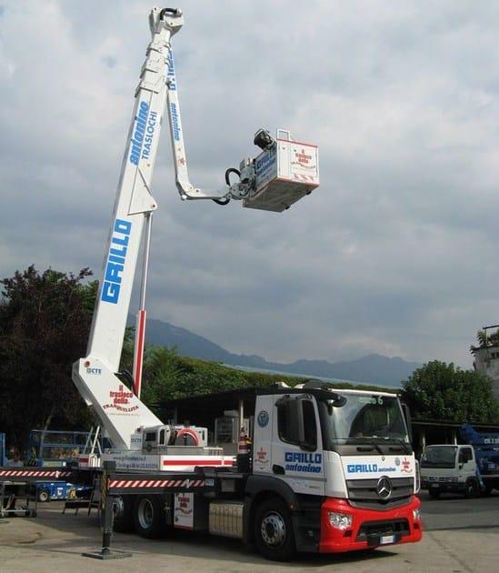 Overhead platform B-LIFT 410 HR by CTE