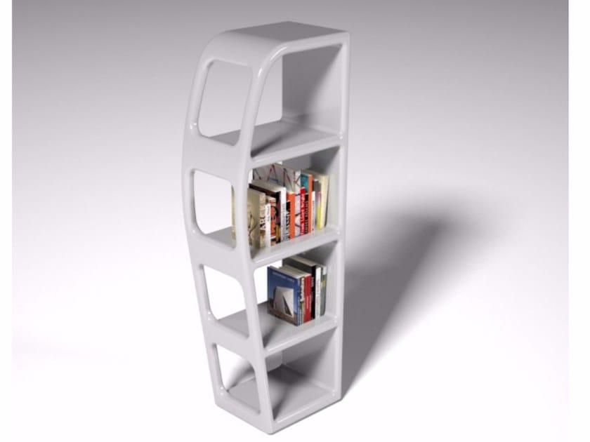 Libreria bifacciale componibile in Adamantx® B-SIDE by ZAD ITALY