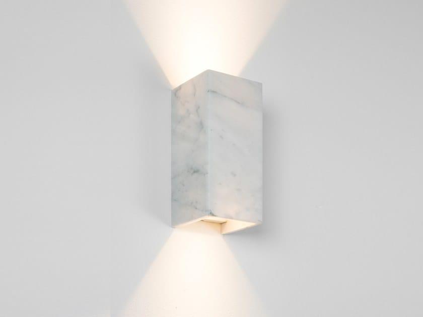 Wall Light Rectangular [B8] CARRARA by GANTlights