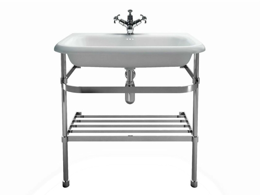 Console washbasin with overflow B9ES | Console washbasin by Polo
