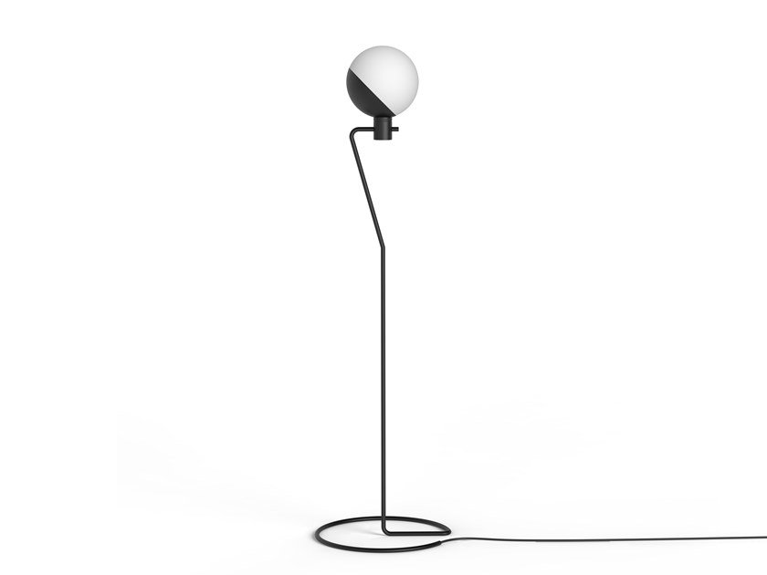 Blown glass floor lamp BALUNA BA-F by Grupa