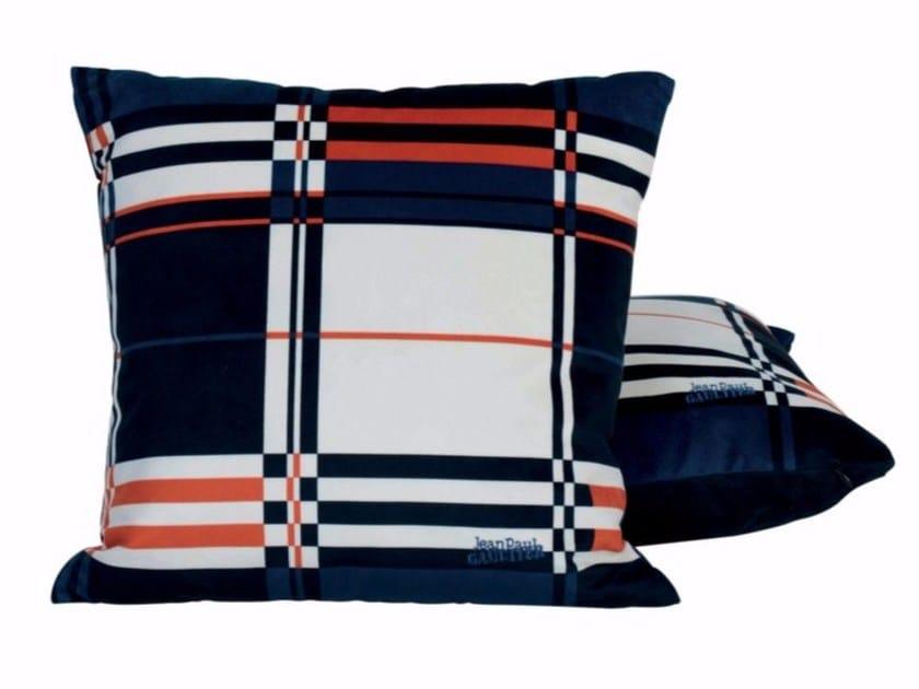 Cuscino quadrato in tessuto per divani baba by lelievre design
