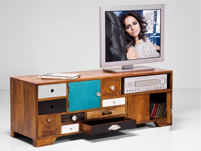 Wooden TV cabinet BABALOU EU | TV cabinet by KARE-DESIGN