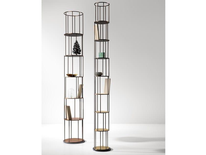 Libreria Metallo Modulare.Libreria Modulare In Metallo Babele By De Castelli Design