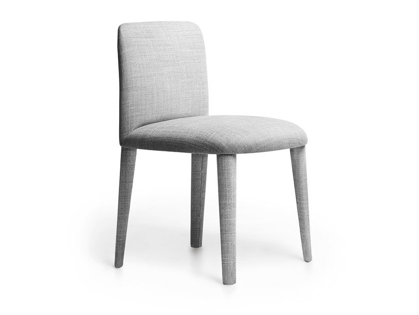 Upholstered fabric chair BABI   Chair by Lema