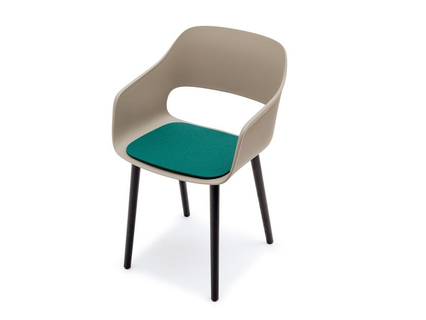 Felt chair cushion BABILA by HEY-SIGN