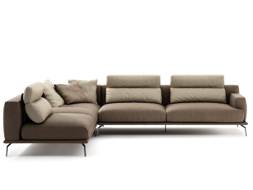 Sectional sofa BABILA by NICOLINE