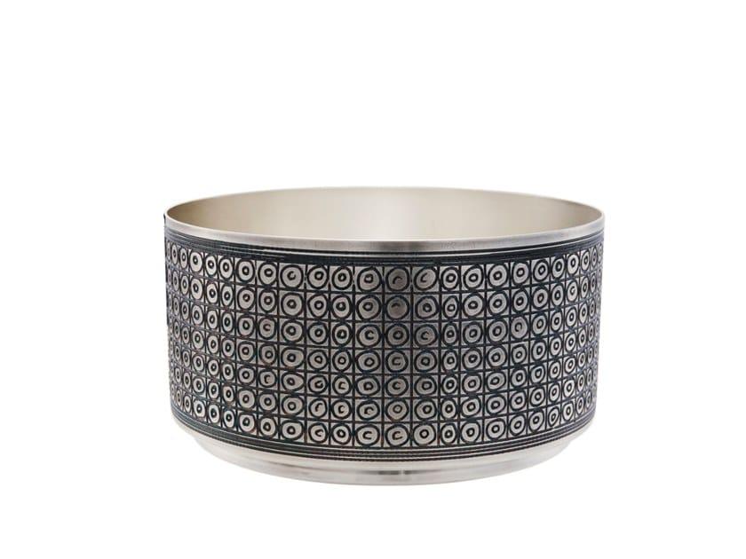 Silver bowl BABILONIA by ZANETTO
