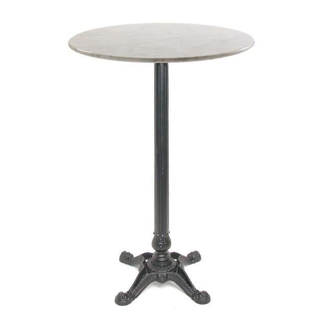 Cast iron high table with 4-star base BABIS-4-FF by Vela Arredamenti