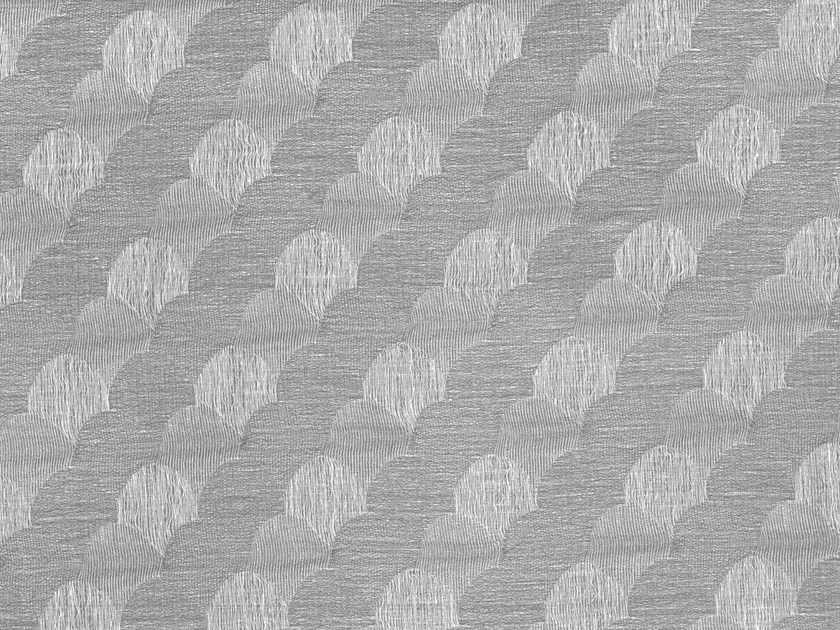 Reversible fabric with graphic pattern BABOO by Aldeco