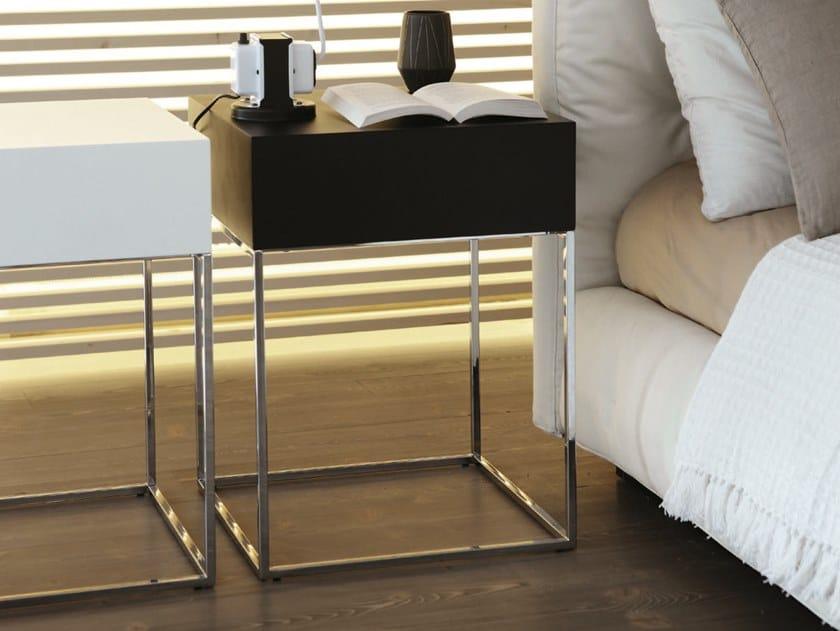 Walnut coffee table / bedside table BABY | Walnut bedside table by Porada