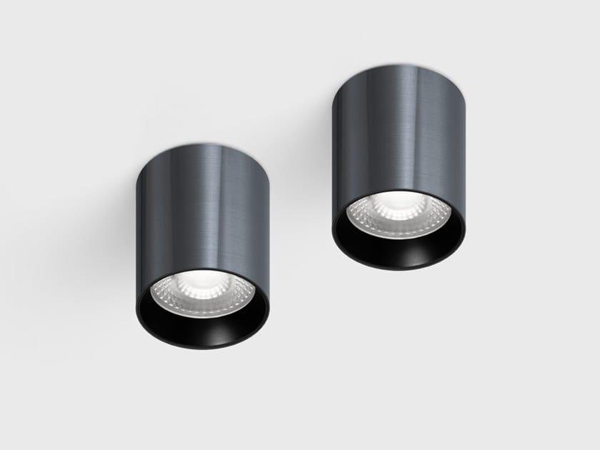 Round ceiling aluminium spotlight with dimmer BABY LOCUS by Centrsvet