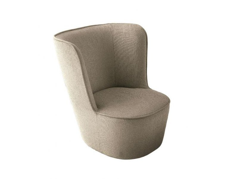 Upholstered fabric armchair BABY ROYALE by Casamilano