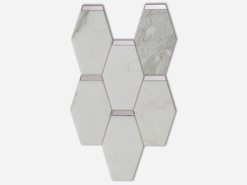 Marble mosaic BABYLON by AKDO