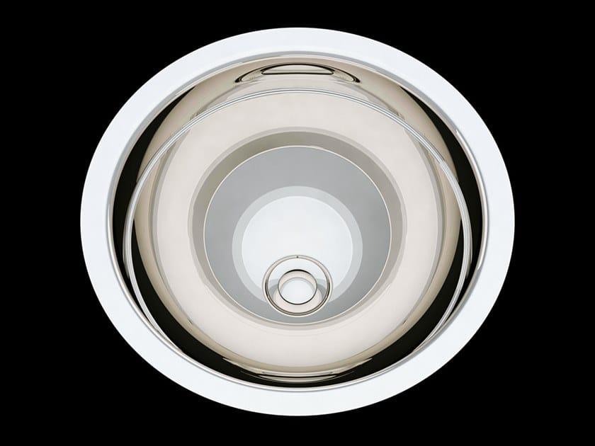 Undermount round washbasin BABYLON   Undermount washbasin by Devon&Devon
