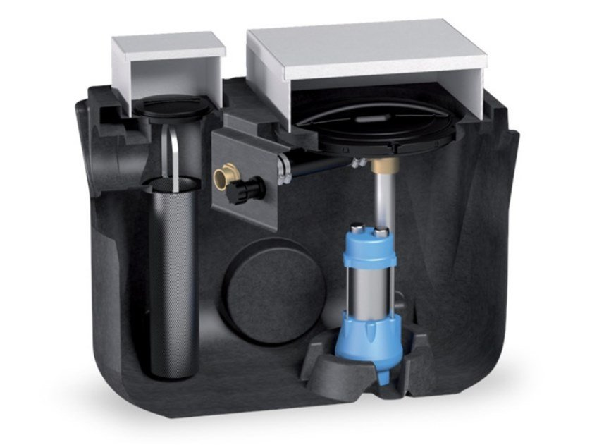 "Component for liquid sewage treatment plant BABYSOL ""BBS"" by Starplast"