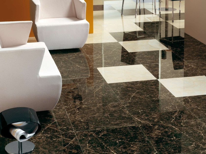 Porcelain stoneware wall tiles / flooring BACH by Museum
