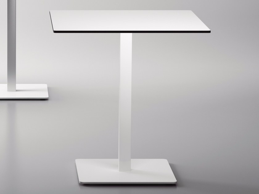 Square MDF contract table BADA | MDF table by Systemtronic