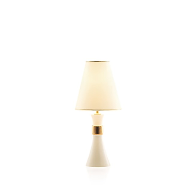 Classic style ceramic table lamp BADGIR IC by ENVY