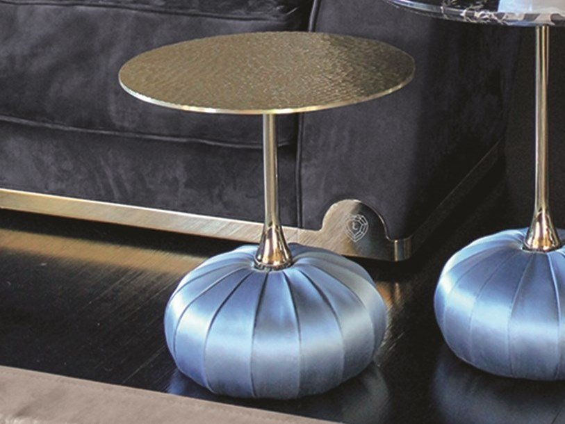 Round Metal Coffee Table BAG | Metal Coffee Table By Longhi