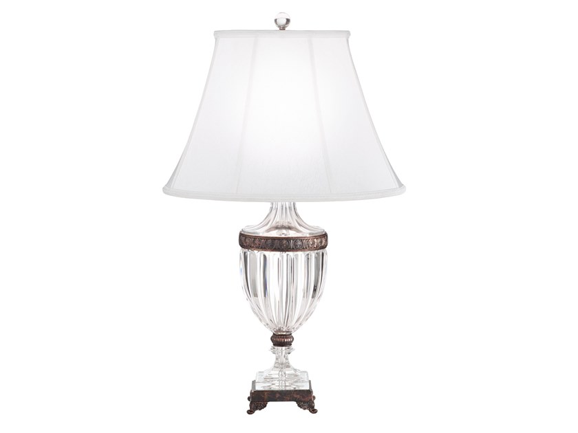 Crystal table lamp BAGATELLE | Table lamp by Schonbek