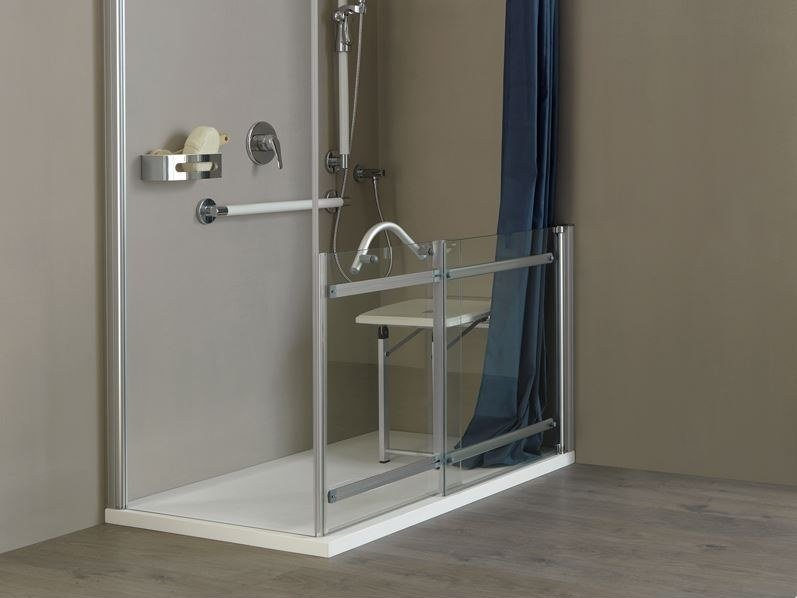Accessible shower BAGNOSICURO | Accessible shower by Ponte Giulio