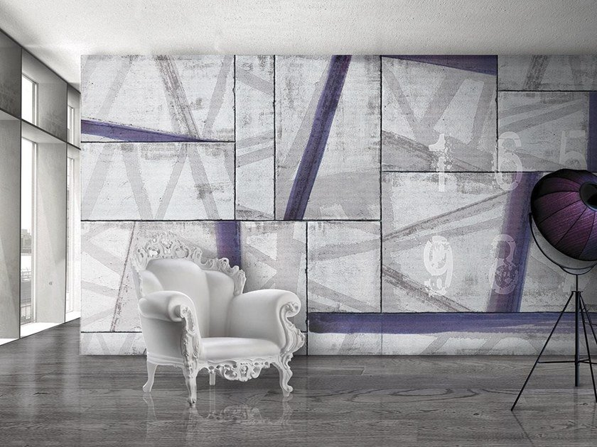 Vinyl or fyber glass wallpaper BAGUTTA by N.O.W. Edizioni