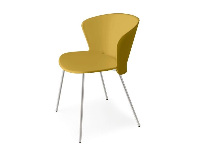 Polypropylene garden chair BAHIA | Chair by Calligaris
