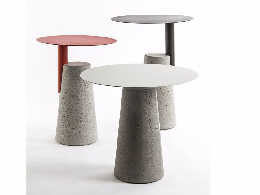 Round side table BAI by Bentu Design