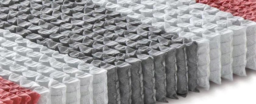 Materasso Balance De Luxe.Materasso A Molle Insacchettate E Memory Foam Balance De Luxe By