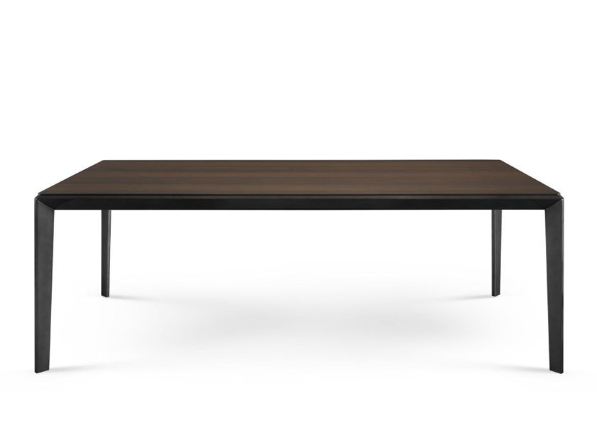 Rectangular wood veneer dining table BALBOA | Dining table by PRADDY