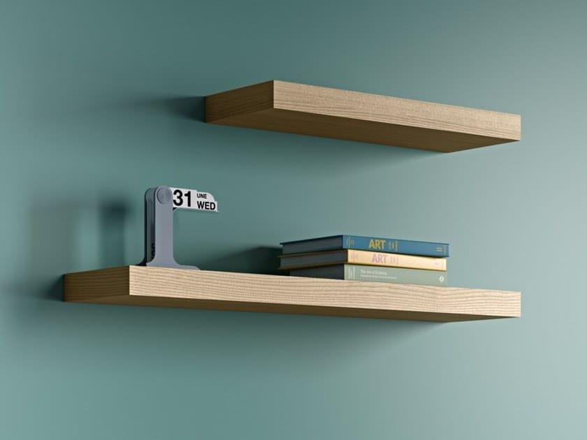 Oak wall shelf BALDA | Oak wall shelf by TemaHome