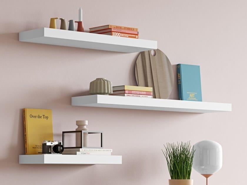 Wooden wall shelf BALDA | Wall shelf by TemaHome